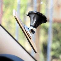Wholesale 360 Degrees 3m Sticker Aluminium Car Mount Holder