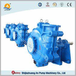 Centrifugal Abrasion Resistant Centrifugal Mining Slurry Pump Rubber Impeller