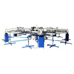 Hot Sale 6 Color Automatic Textile Printing Machine