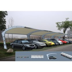 Waterproof Membrane Structure Car Parking Shed for Sale