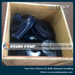 Centrifugal Slurry Pump Spare Parts, High Chrome Alloy Part, Polyurethane Spare Parts