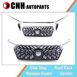 Car Parts Sport Style Front Grille and Auto Accessory Body Decoration for Toyota Prado 2018 Fj150