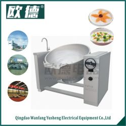 230L Large Capacity Induction Titling Catering Cooking Pan (Manual)