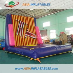 Outdoor Fun & Sports New Fashion New Design Inflatable Sticky Wall Jumping Sport Games Toys Customized Inflatable Climbing Wall With Suit