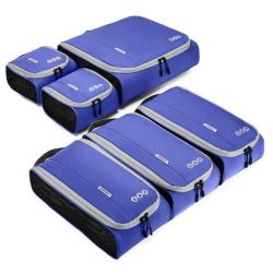 Luggage Organizers Packing Cubes Set Travel Accessories Nylon Suitcase Bags