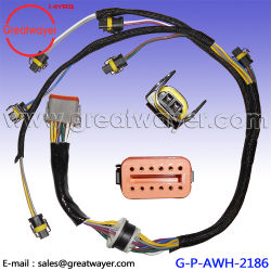 china engine wire harness, engine wire harness manufacturers wiring harness manufacturer caterpillar engine 222 5917 fuel injector c7 wiring harness