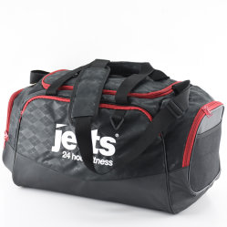 Nylon Sport Gym Duffel Travel Bag with Shoes Compartment for Fitness