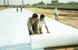 Nonwoven Needle Punched Brand New Geotextile Fabric