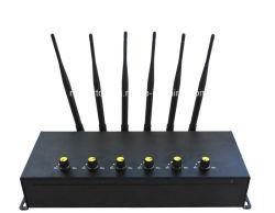 Universal 6-Band Cellular Phone GSM Jammer 3G 4G Jammer