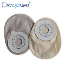 Medical Products Wholesale One-Piece Urostomy Bag with Carbon Filter
