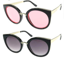 High Quality Metal & Plastic Frames Candy Lense Sunglasses