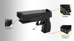 Highly Cost Performance Laser Glare Gun with Strong Glaring Light for Police