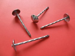 The Most Affordable Price of The Umbrella Cap Galvanized Corrugated Nails
