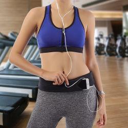 Adjustable Elastic Neoprene Waterproof Fitness Colorful Fanny Pack Belt Running Sports Waist Bag