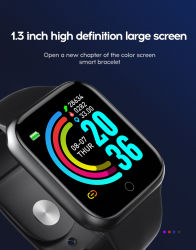 Y68 Less than $5 Wholesale Cheap Body Blood Pressure RoHS Fashion Bluetooth Women Digital Electronic Touch Screen Mobile Android Sport Smart Wrist Gift Watches
