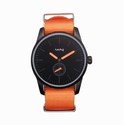 Factory Alloy Case Nylon Strap Water Resistant Sport Watch (WY-136)