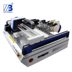 Desktop SMT Pick and Place Machine with Vision System 19 Feeders Works to 0201 BGA