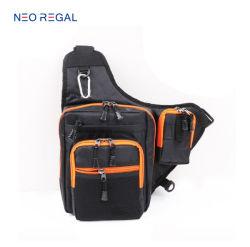 Wholesale Waterproof Multi-Purpose Durable Fishing Tackle Men Shoulder Lure Sling Bag
