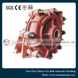 Hhs Type High Pressure Heavy Duty Solid Handling Slurry Pump