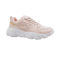 Bia19L-213 Lady Casual Sport Shoes Trainer Sneaker Chunky Sole Light Weight