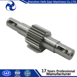 Make in Shenzhen Black Axle Steel Worm Gear Shaft Wholesale