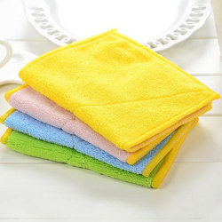 Wholesale Microfiber Towel for Household Cheaning Cloth for Kitchen Textile