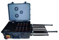8 CH Draw-Bar Portable Mobile Phone Signal Jammer Rcied Jammer