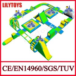 Newest 0.9mm PVC Inflatable Floating Water Park, Water Sports Equipment En15649 Certificate (Lilytoys-WP32)