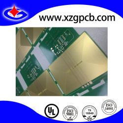 Double-Sided PCB with Immersion Gold with Coil Design