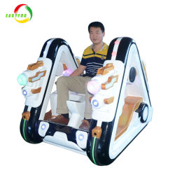 2018 Chinese Wholesale Amusement Outdoor Coin Operated Kiddie Ride Battery Rover Bumper Car with Bubble