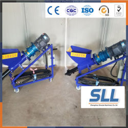 Water Slurry Mortar Putty Pump Grouting Air Compressor Can Be Sprayed