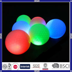 Wholesale Custom Print Glowing in The Dark Golf Ball