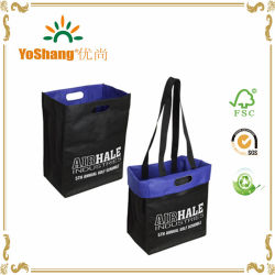 Custom Printed Stronghold Reversible Non Woven Tote Bags
