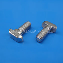 Class 8.8 T-Bolt for Aluminum Profile Slot 8 Hammer Head, T-Bolt Nut