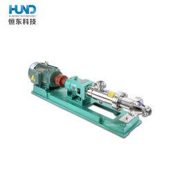 High Quality Stainless Steel Mono Screw Sludge Slurry Pump