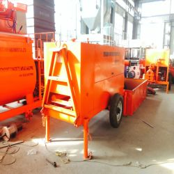 Clc Lightweight Cellular Hydraulic Concrete Pump
