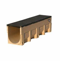 Side Slot Linear U Type Polymer Drainage Channel