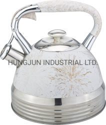 3.0L Stainless Steel Whistling Kettle of Kitchen Ware