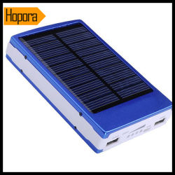 Cheap Solar Sun Mobile Cell Phone Charger Battery 30000mAh with USB Cable