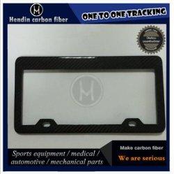USA Car Rear Carbon Fiber License Plate Tag Frame