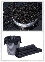 Plastic Black Masterbatch 40% LDPE Granules Virgin