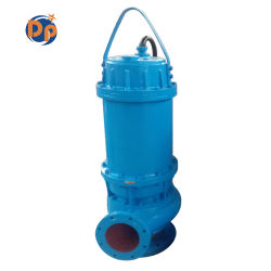 Submersible Sewer Cutter/Grinder/Agitator Pump with Guide Rail & Auto Coupling