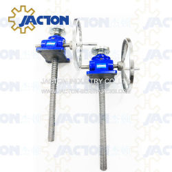 Best Price Worm Gear Hand Crank Screw Jack for Lifting Tables