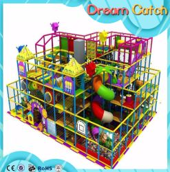 New Style Fiber Glass Slide Plastic Kids Indoor Playground Game for Sale