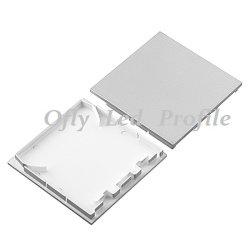 76X76mm Artichetrual Commercial LED Profile Lighting with Driver for Ceiling
