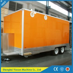 Fully Customized Fast Food Truck for Sale / Steel Food Bus