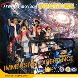 Hot Dynamic Cinema Cabin 5D / 6D / 7D / 9d Cinema roller Coaster Ride Home Theater