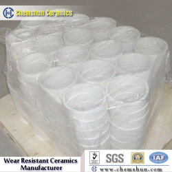Wear Resistant Alumina Ceramic Sleeve with Lower Price (Size: 9mm-500mm)