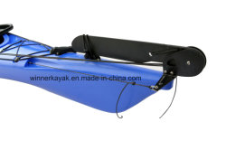 LLDPE or HDPE Material 5.20m Roto Molded Plastic Single Sit in Sea Speed Boats