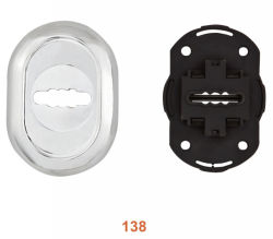 High Quality Zinc Alloy Security Door Cylinder Cover (138)